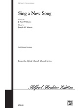 Sing a New Song - Choral