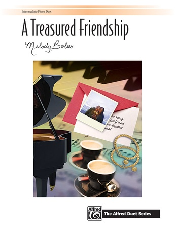 A Treasured Friendship - Piano Duet (1 Piano, 4 Hands) - Piano Duets & Four Hands
