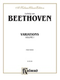 Beethoven: Variations (Volume I) - Piano