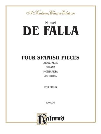 Falla: Four Spanish Pieces - Piano