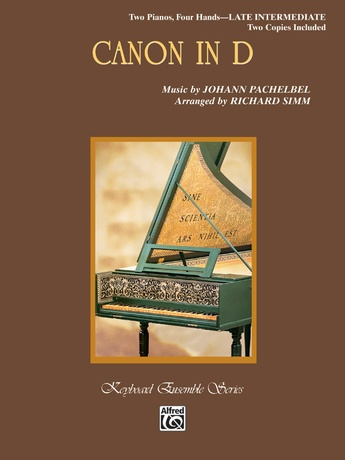 Canon in D - Piano Duo (2 Pianos, 4 Hands) - Piano Duets & Four Hands