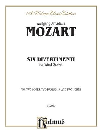 Six Divertimenti - Woodwind Ensemble