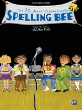 """Pandemonium (from """"The 25th Annual Putnam County Spelling Bee"""") - Piano/Vocal/Chords"""