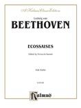 Beethoven: Ecossaises (Ed. Feruccio Busoni) - Piano