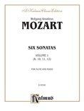 Mozart: Six Sonatas, Volume I (Nos. 1-3) - Woodwinds