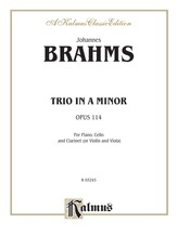 Brahms: Trio in A Minor, Op. 114 - Mixed Ensembles