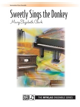 Sweetly Sings the Donkey - Piano Quartet (2 Pianos, 8 Hands) - Piano