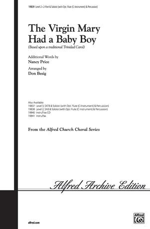 The Virgin Had a Baby Boy - Choral