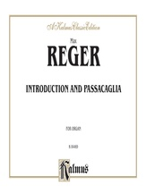 Reger: Introduction and Passacaglia - Organ