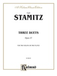 Stamitz: Three Duets, Op. 27 (for two violins or two flutes) - String Ensemble
