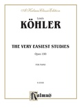 Köhler: The Very Easiest Studies, Op. 190 - Piano