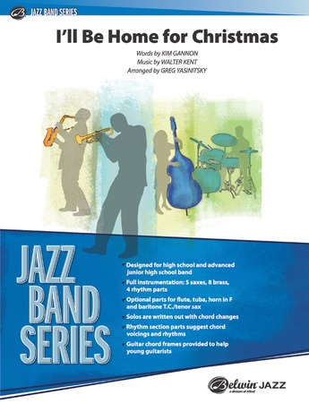 I'll Be Home for Christmas - Jazz Ensemble