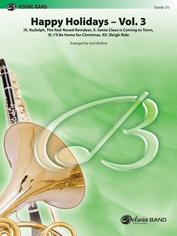 Happy Holidays---Vol. 3 - Concert Band