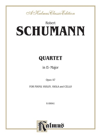 Schumann: Quartet in E flat Major, Op. 47 - Mixed Ensembles