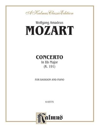 Mozart: Concerto in B flat Major, K. 191 - Woodwinds
