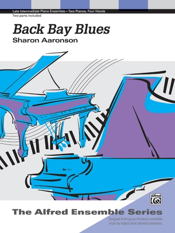 Back Bay Blues - Piano Duo (2 Pianos, 4 Hands) - Piano Duets & Four Hands