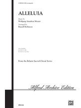 Alleluia - Choral