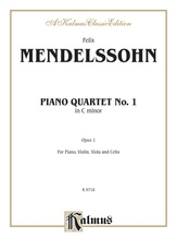 Mendelssohn: Piano Quartet No. 1 in C Minor, Op. 1 - Mixed Ensembles