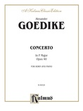 Goedicke: Concerto in F Major, Op. 40 - Brass