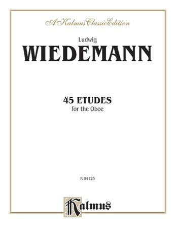 Wiedemann: 45 Etudes - Woodwinds