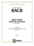 Bach: Tenor Arias, Volume I (German) - Voice
