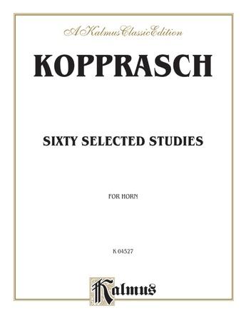 Kopprasch: Sixty Selected Studies - Brass
