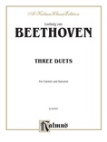Beethoven: Three Duets for Clarinet and Bassoon - Woodwinds