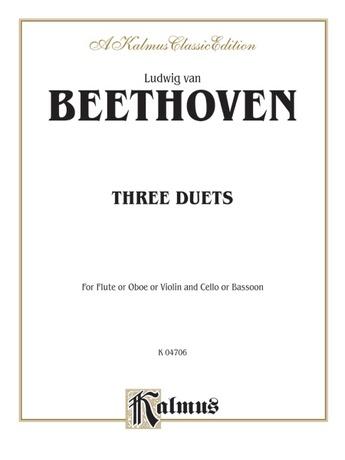 Beethoven: Three Duets - Mixed Ensembles