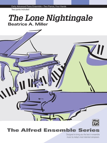 The Lone Nightingale - Piano Duo (2 Pianos, 4 Hands) - Piano Duets & Four Hands