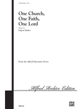 One Church, One Faith, One Lord - Choral