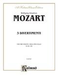 Mozart: Three Divertimenti - String Quartet