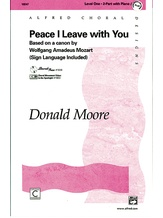 Peace I Leave with You - Choral