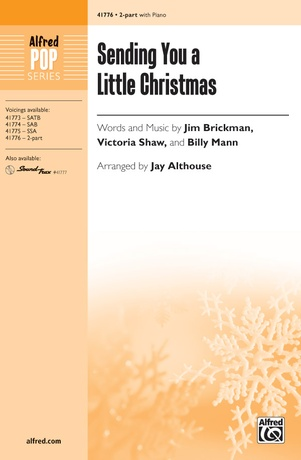 Sending You a Little Christmas - Choral