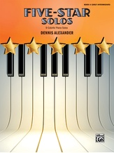 Five-Star Solos, Book 4: 9 Colorful Piano Solos - Piano