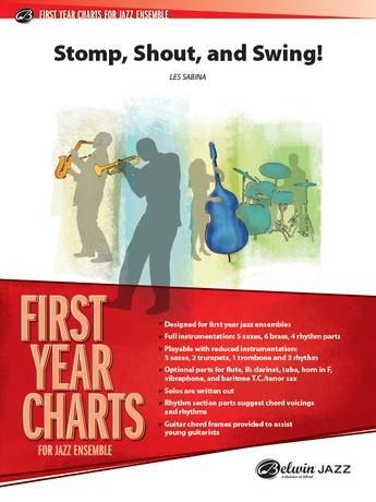 Shout, Stomp, and Swing!: 1st B-flat Clarinet: Les Sabina | Jazz
