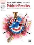Solos, Duets & Trios for Winds: Patriotic Favorites (Alto Saxophone/Baritone Saxophone) - Woodwind Ensemble