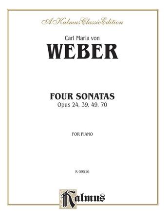 Weber: Four Piano Sonatas - Piano