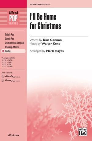 I'll Be Home for Christmas - Choral