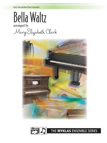 Bella Waltz - Piano Quartet (2 Pianos, 8 Hands) - Piano