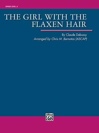 The Girl with the Flaxen Hair - Concert Band