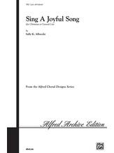 Sing a Joyful Song - Choral
