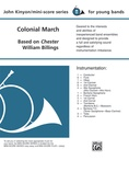 Colonial March (Based on Chester) - Concert Band