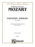 Mozart: Exultate Jubilate, K. 165, Motet for Soprano (Latin) - Voice
