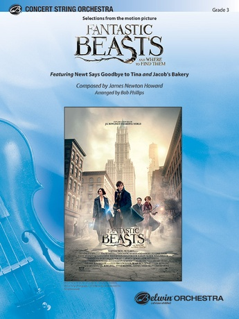 Fantastic Beasts and Where to Find Them - String Orchestra