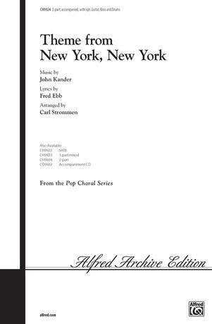 <I>New York, New York,</I> Theme from - Choral