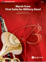 March from First Suite for Military Band - Concert Band
