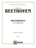 Beethoven: Two Romances, Op. 40 and 50 - String Instruments