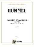 Hummel: Sonatas and Pieces (Volume I) - Piano