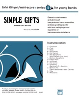 Simple Gifts (Shaker Folk Tune) - Concert Band