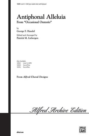 Antiphonal Alleluia - Choral